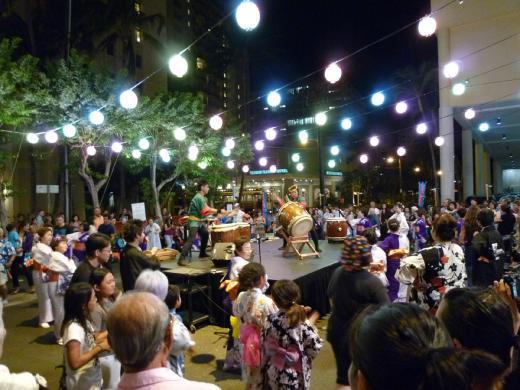 HAWAII 2010 盆踊り