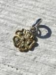 18K GOLD ROSE PENDANT (M)
