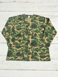 V Neck Army Shirt (Plinted Flannnel / Camouflage)