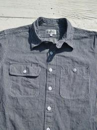 【ENGINEERED GARMENTS WORKADAY】 Utility Shirt (Railroad St.)