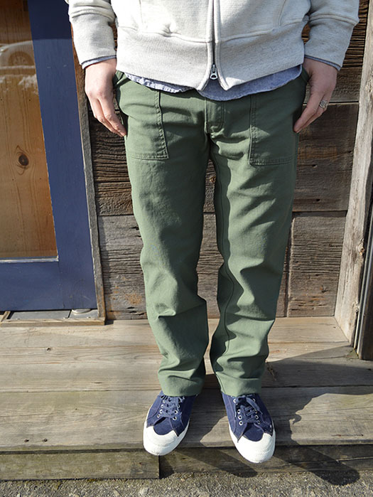 FATIGUE PANTS ( Reversed Sateen )