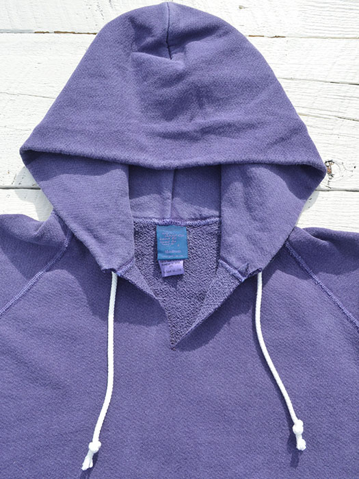 CUT OFF P/O HOOD SWEAT