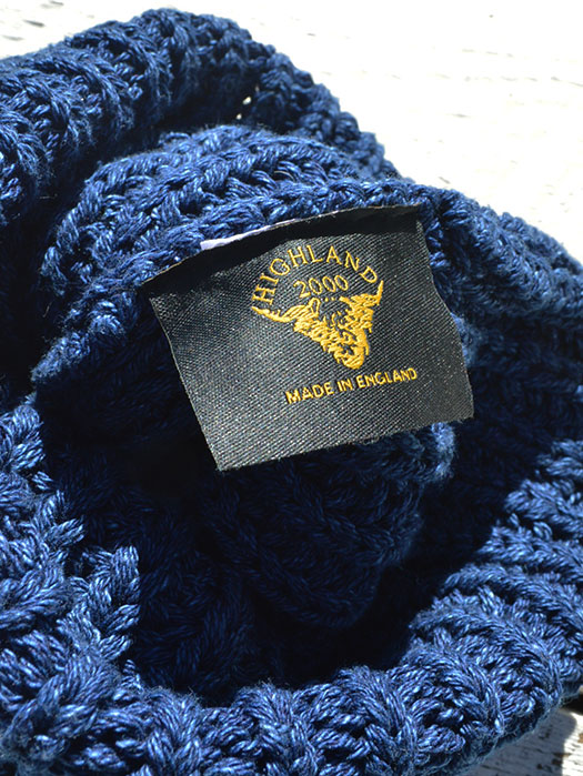 BOBBY CAP (INDIGO COTTON)