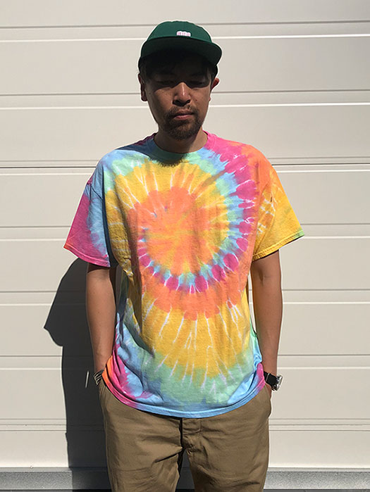 【Red Dog】 S/S Tie Dye Tee