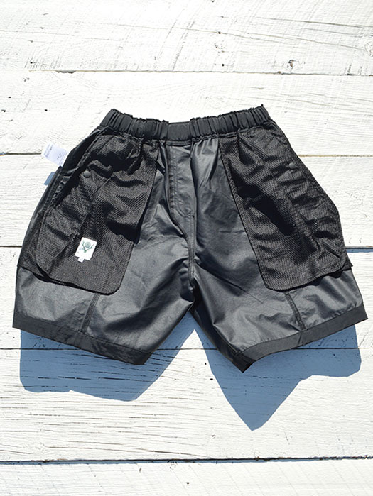 Belted Center Seam Short (Nylon Tussore)