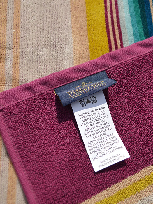 Oversized Jacquard Towels