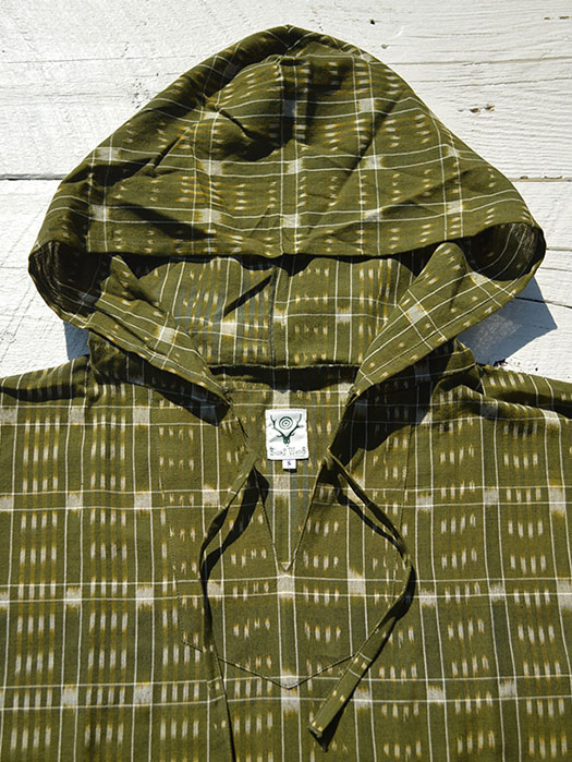 Mexican Parka (Cotton Cloth / Splashed Pattern)