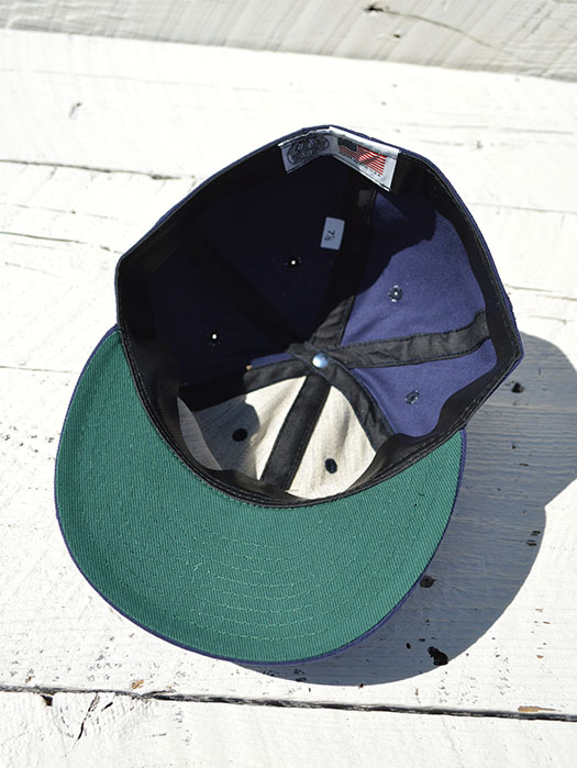 BALL CAP (SALT LAKE CITY BEES) (BRUSHED BULL DENIM TWILL)