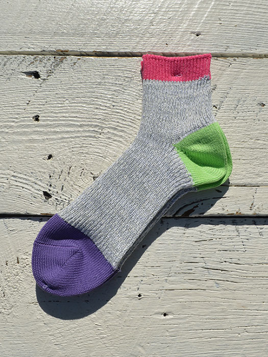 Slab Nep 3 Panel Socks
