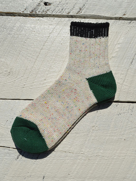 Color Nep 3 Panel Socks