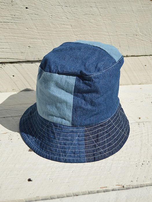 Bucket Hat (Washed 8oz Denim)