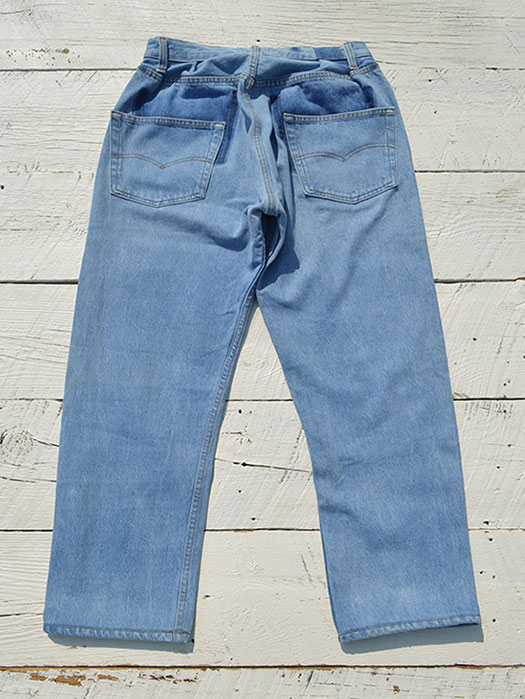 "【KNIFEWING】 USA Levi's 501 WIDE Tuck Pants (Size M)""③"""