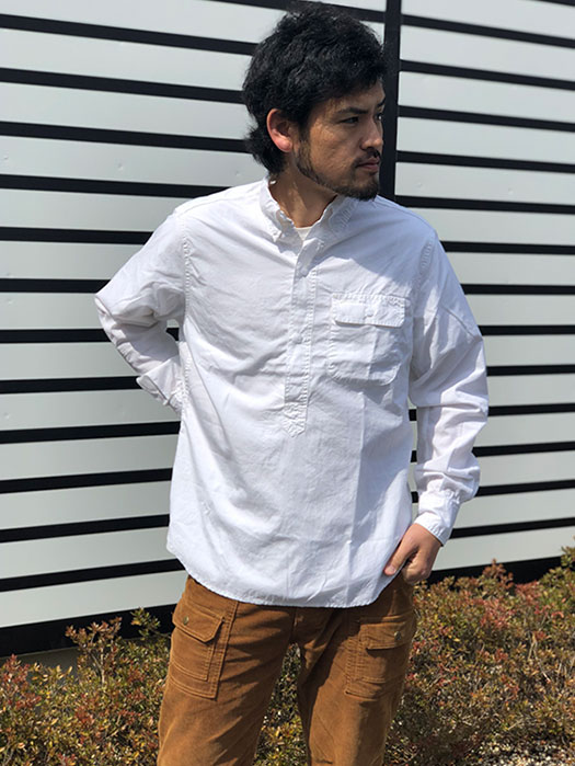 Green Thumb Shell Shirt (END-ON-END)