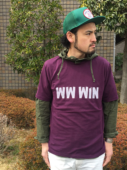 "Printed T-Shirt ""WW WIN"" (NR別注)"