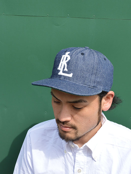 BALL CAP (ARKANSAS TRAVELLERS) (8oz Denim)