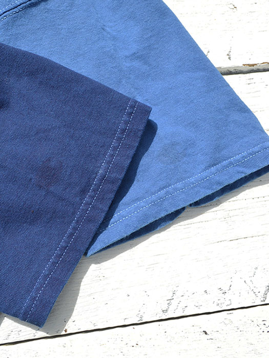 【KNIFEWING】 INDIGO Pocket Tee