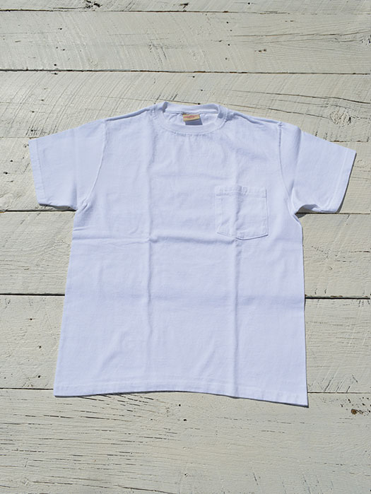 S/S CREW NECK POCKET Tee