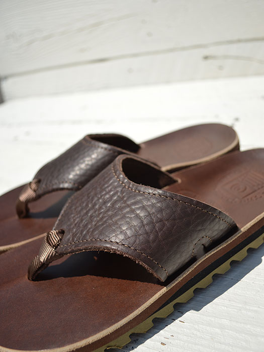 NR別注 Wide Strap (Bullhide×CHROMEXEL) (Ripple Sole)