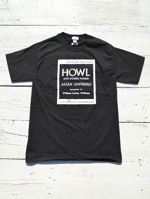 【CITY LIGHTS BOOK STORE】 BASIC S/S Tee (HOWL)