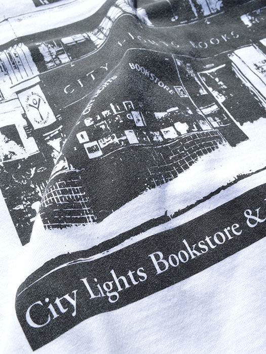 【CITY LIGHTS BOOK STORE】 SEASON S/S Tee (Storefront)
