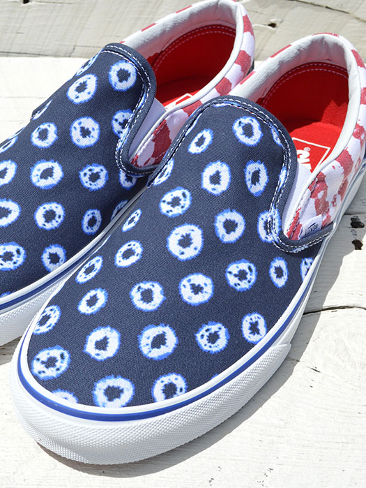 Classic Slip-On (Dyed Dots & Stripes)