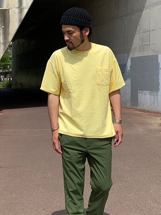 【Cal Cru】 Ridge S/S Pocket T-Shirts (NR別注)