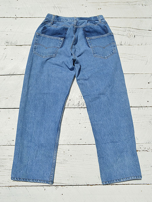 "【KNIFEWING】 USA Levi's 501 WIDE Tuck Pants (Size S) ""E"""