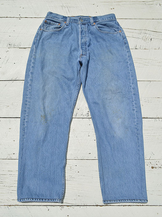 "【KNIFEWING】 USA Levi's 501 WIDE Tuck Pants (Size M) ""G"""