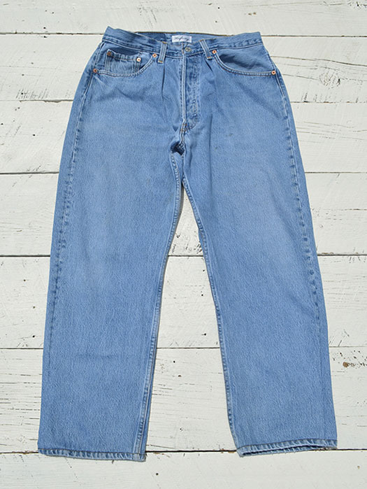 "【KNIFEWING】 USA Levi's 501 WIDE Tuck Pants (Size M) ""H"""