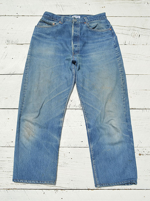 "【KNIFEWING】 USA Levi's 501 WIDE Tuck Pants (Size M) ""K"""