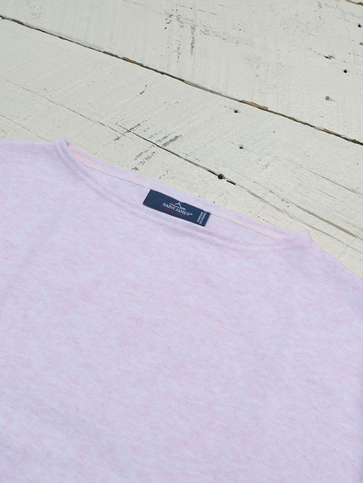 OUESSANT LIGHT SHORT SLEEVE (杢ライトピンク)
