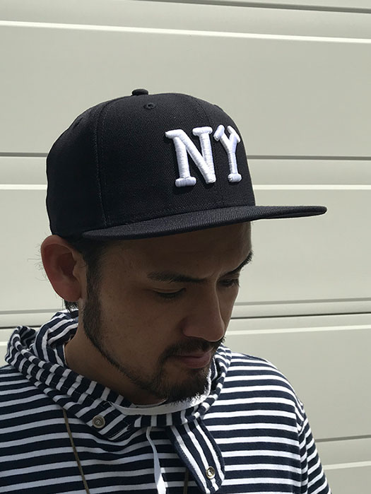"59FIFTY ""New York Black Yankees"" (Navy× White)"