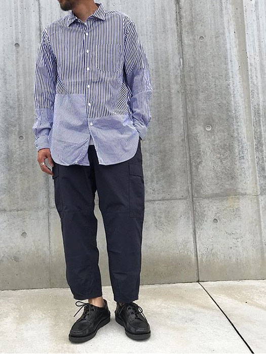 Spread Collar Shirt (St. Broadcloth)