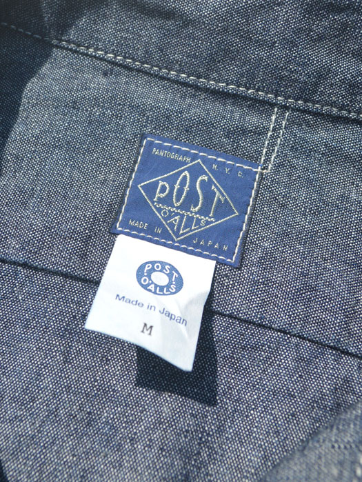 The Post Ⅲ-R-W (Heavy Chambray)