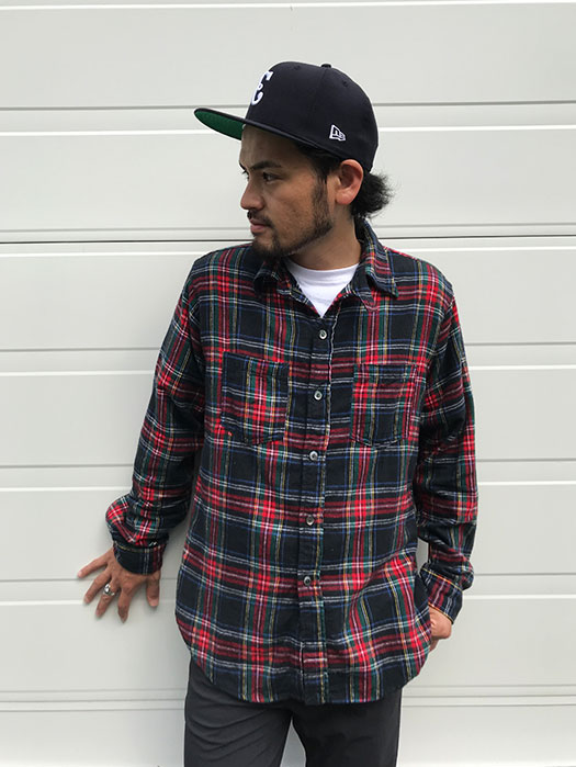 The POST Ⅲ-R-W (Plaid flannel)
