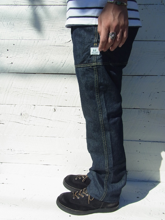 Fall Leaf Sprayer Pants (13.5oz Denim)