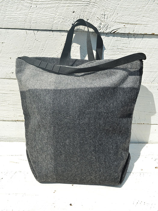 Carry All Tote w/Strap (Hv. Weight Big Plaid H.B)