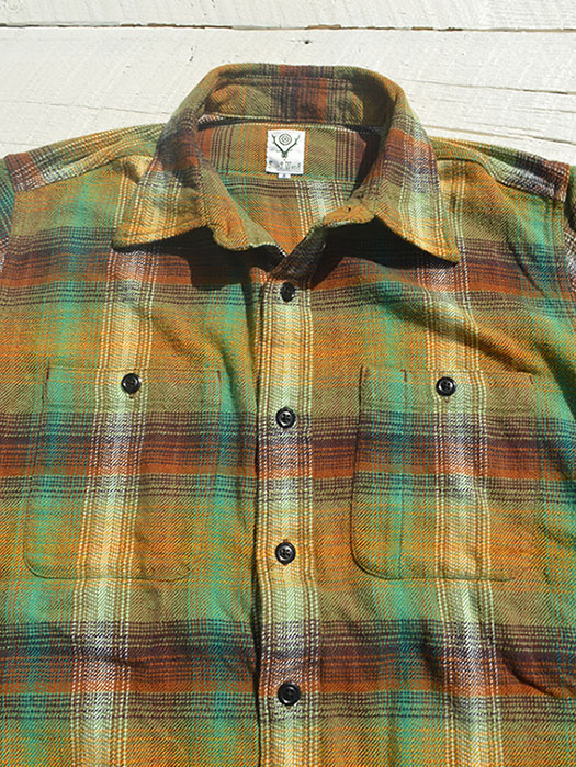 Work Shirt (Cotton Twill / Plaid)