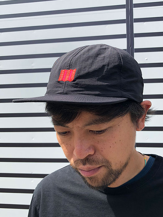 EMBROIDERED NYLON BALL CAP