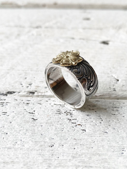 18K ROSE KARAKUSA RING