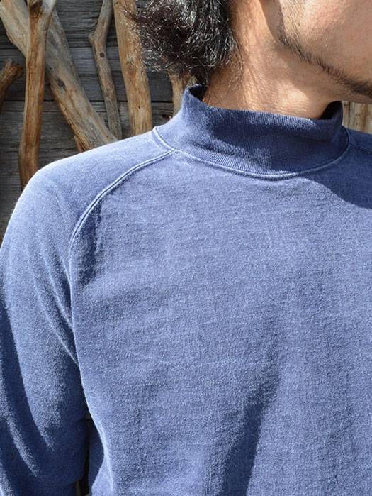 L/S HEAVY MOCK NECK TEE