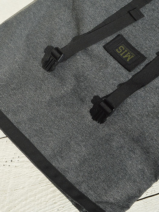 ROLL UP BACKPACK (Denim Cordura Collection)