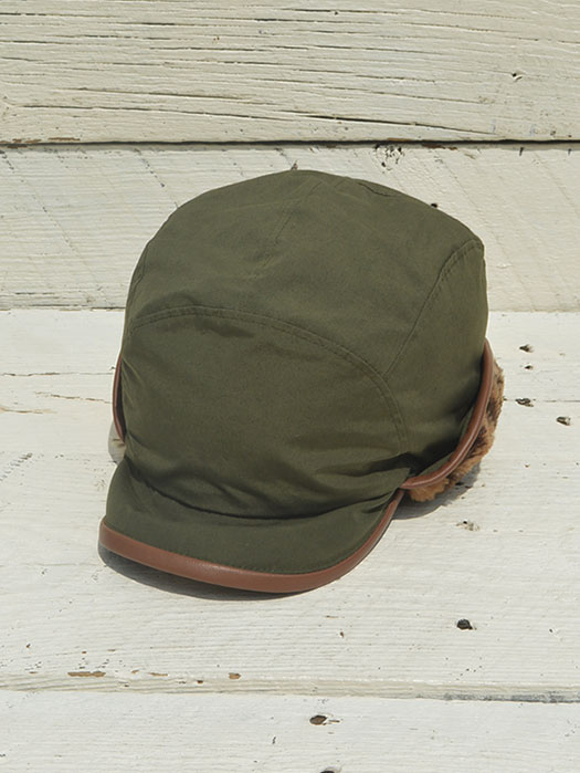Bird Shooting Cap (Wax Coating / Boa Lined)