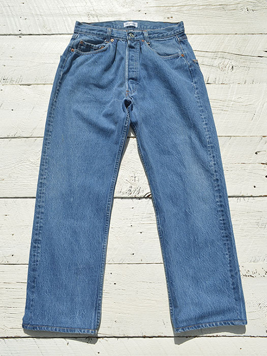 "【KNIFEWING】 USA Levi's 501 WIDE Tuck Pants (Size S)""H"""