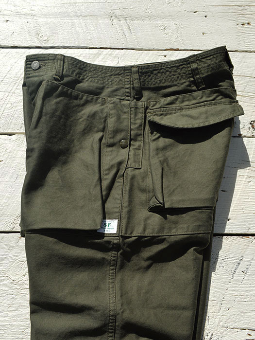 Digs Crew Pants 4/5 (Back Satin)