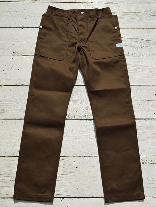 Fall Leaf Sprayer Pants (T/C Chino)
