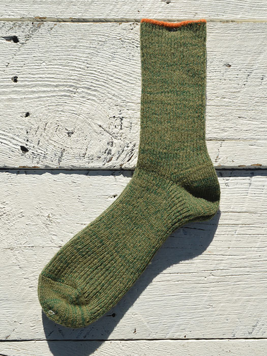 Wool Top Line Socks