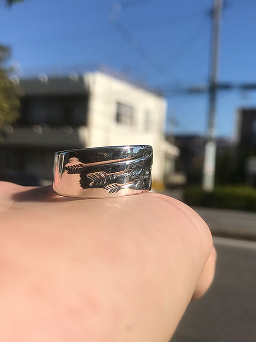 TB ARROW RING