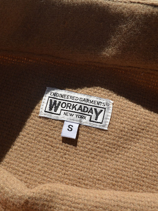 【Engineered Garments Workaday】 Smock Popover (Tri Blend Wool)