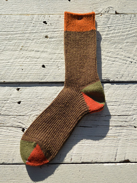 【Mauna Kea】 Wool Panel Socks